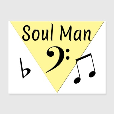 Soul Man Oldies Song Titles - Poster 24x18