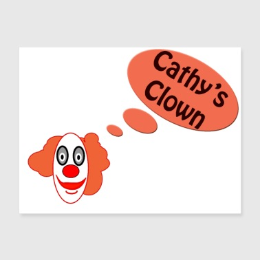 Cathy's Clown Oldies Hit Song Titles - Poster 24x18