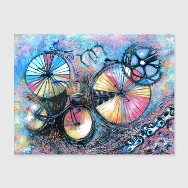 Shop Cycling Wall Art online | Spreadshirt