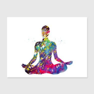 Yoga sport - Poster 24x18