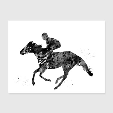 Horse Racing - Poster 24x18