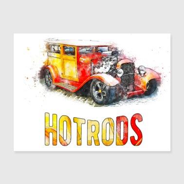 Shop Hot Rod Wall Art online | Spreadshirt