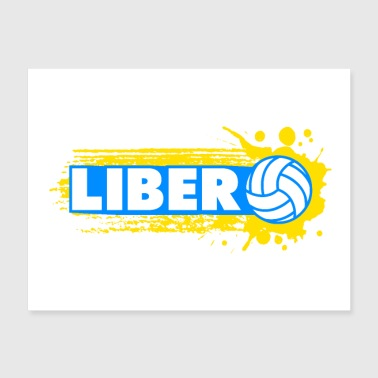 Libero Volleyball - Poster 24x18
