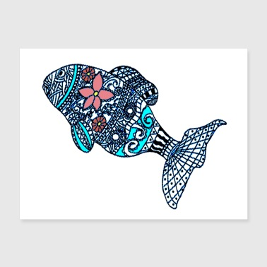 Fish 9 Poster - Poster 24x18