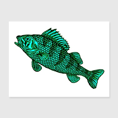 Fish 7 Poster - Poster 24x18