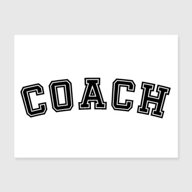 Coach Sports - Poster 24x18