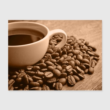 Sepia coffee - Poster 24x18