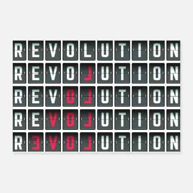 Revolution Revolution Love Shirt - Poster