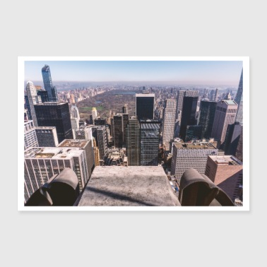 Ny New York - Central Park - Poster 12x8
