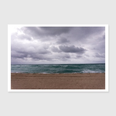 Weather The sea. - Poster 12x8