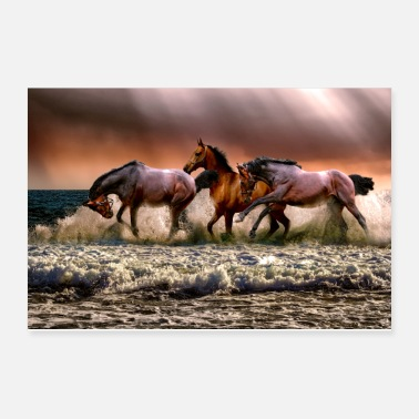 Sayings Horse - Poster