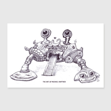 The ART of Michael Kriftner - Crab? - Poster 12x8