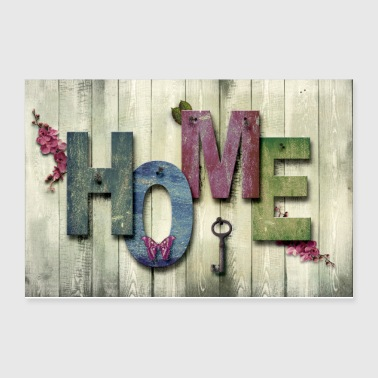 HOME SWEET HOME - Poster 12x8