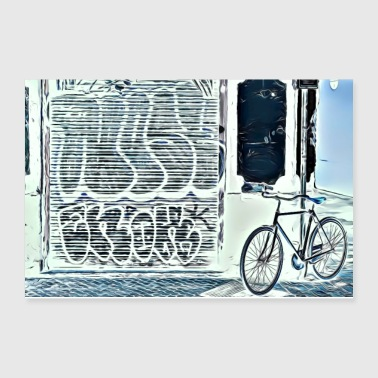 DC 120 Electric Graffity - Poster 12x8