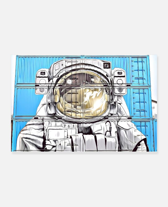 Streetwear Posters - DC 110 Graffiti Full Collor - Posters white