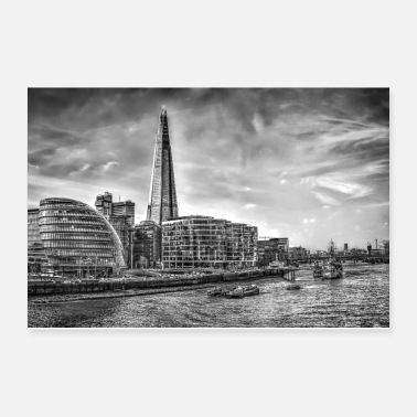 London The Shard Building London - Poster 12x8