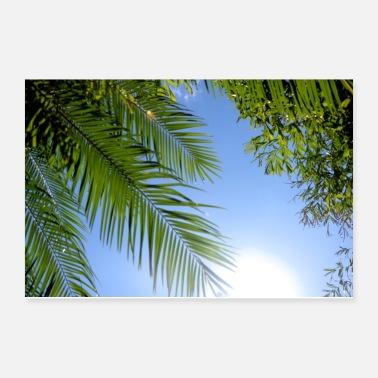South Beach Summertime Sunshine Poster 12x8
