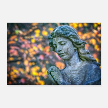 Angel An Angel in Autumn - Poster 12x8