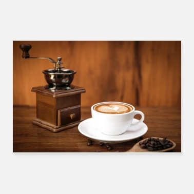 Picture Coffee grinder - Poster 12x8