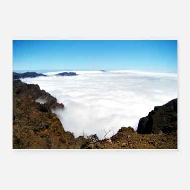 Cloud Carpet of clouds - Poster