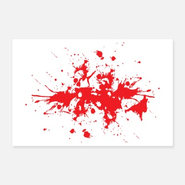 Effect Blood effect poster - Poster