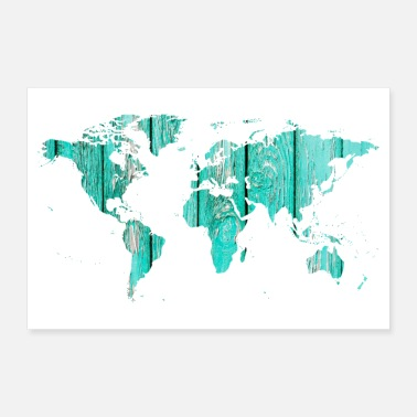 World Map World map - Poster