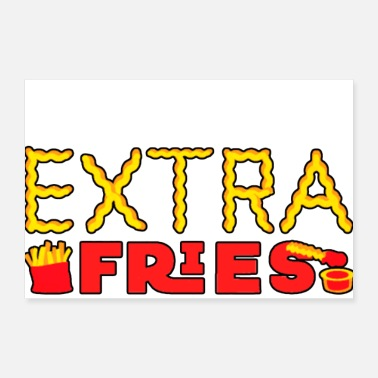 Exercise Exercise I Thought You Said Extra Fries - Poster