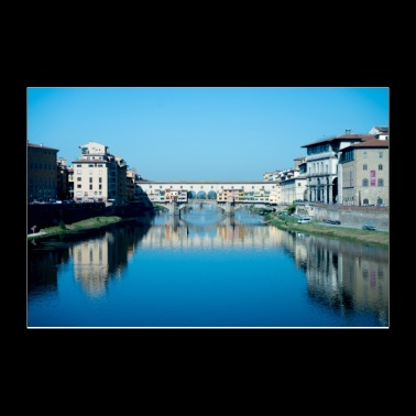 Bridges of Florence Italy II - Poster 12x8