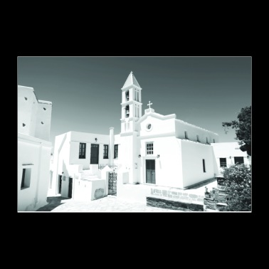 Tinos Greece Black and White Photos - Poster 12x8