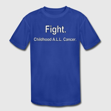 Fight Cancer - Kid's Moisture Wicking Performance T-Shirt