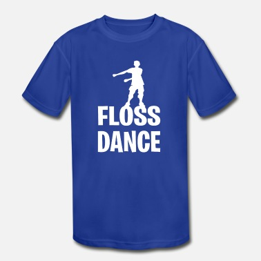 Kid Sizes Floss Dance Kids Gift Youth Size - Kids' Moisture Wicking Performance T-Shirt