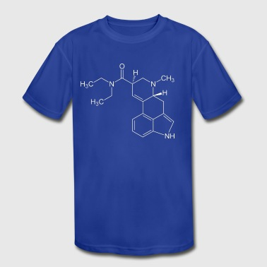 Lsd Trip LSD - Kid's Moisture Wicking Performance T-Shirt