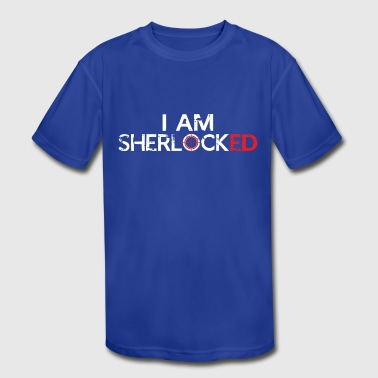 I AM SHERLOCKED - Kid's Moisture Wicking Performance T-Shirt