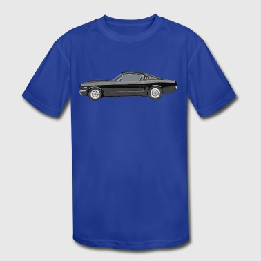 Ford Mustang - Kid's Moisture Wicking Performance T-Shirt