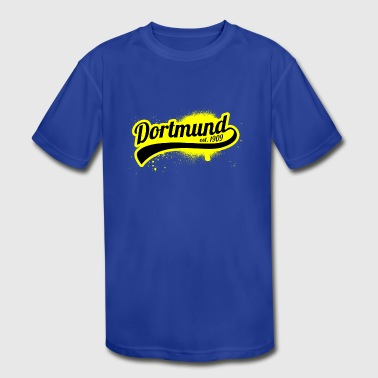 Soccer Liga GermanyDortmund 1909 Ruhr Area Gift - Kid's Moisture Wicking Performance T-Shirt