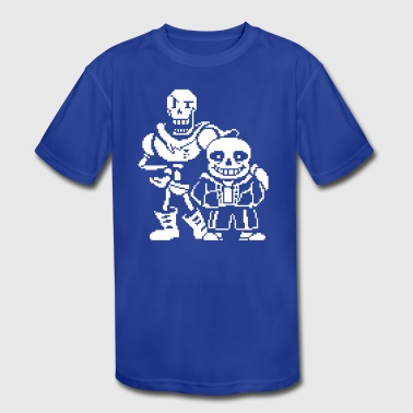 Sans and Papyrus - Kid's Moisture Wicking Performance T-Shirt