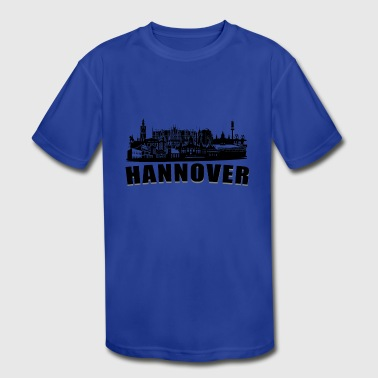Hannover or Hanover a town in germany - Kid's Moisture Wicking Performance T-Shirt