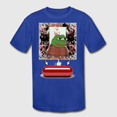 Comfy Pepe - Kid's Moisture Wicking Performance T-Shirt