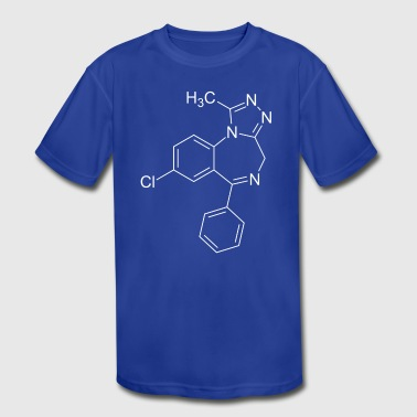 Xanax alprazolam - Kid's Moisture Wicking Performance T-Shirt