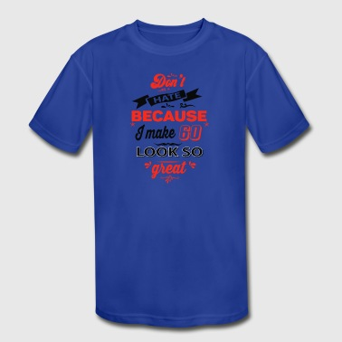 60th birthday designs - Kid's Moisture Wicking Performance T-Shirt