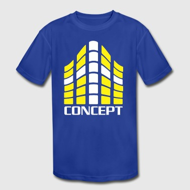 Concept - Kid's Moisture Wicking Performance T-Shirt