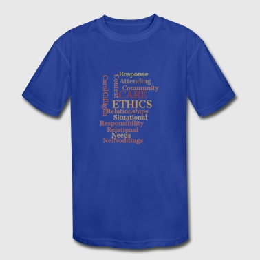 ethics quotes - Kid's Moisture Wicking Performance T-Shirt