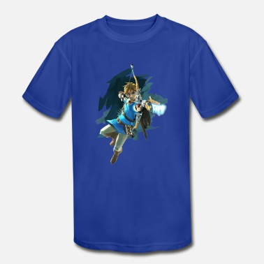 Zelda Zelda U Art Highest Res Shirt - Kids' Moisture Wicking Performance T-Shirt