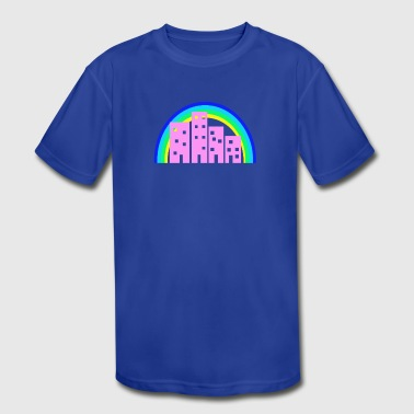 City And Colour City - Kid's Moisture Wicking Performance T-Shirt