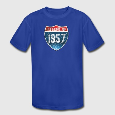 Legend Of 1957 - Kid's Moisture Wicking Performance T-Shirt