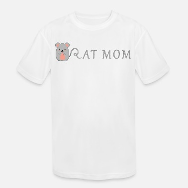Rat Funny Rat Mom Cute Funny Rats Gift For Rat Lover - Kids' Sport T-Shirt