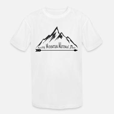 Mountains Rocky Mountain National Park Souvenir Vacation Mountain Travel Design - Kids' Sport T-Shirt