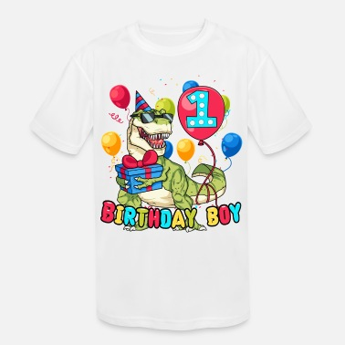 1 Year Old 1 Year Old Birthday Shirt - Kids' Moisture Wicking Performance T-Shirt