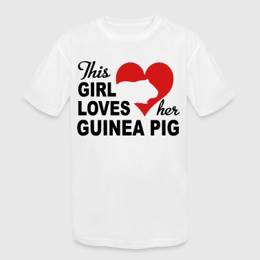 Guinea Pig - Kid's Moisture Wicking Performance T-Shirt