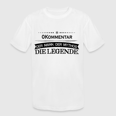 Mythos Legende Vorname 0Kommentar - Kid's Moisture Wicking Performance T-Shirt